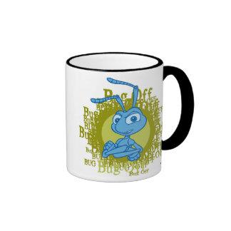 A Bug's Life Flik arms folded Disney Ringer Mug