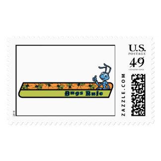 A Bug's Life Flik - Bugs Rule Disney Stamp
