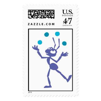 A Bug's Life Flik juggling Disney Postage