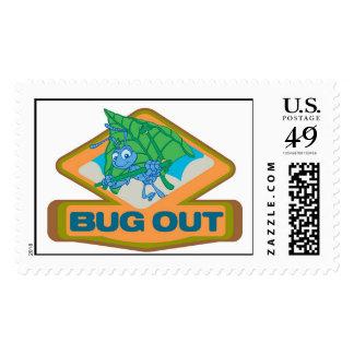A Bug's Life Flik Logo Disney Postage Stamp