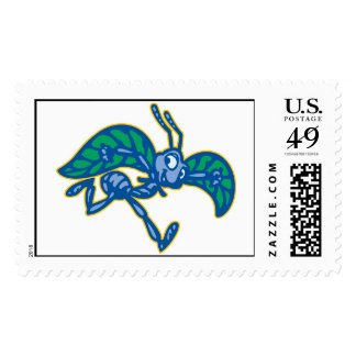 A Bug's Life Flik Trying To Fly Disney Postage Stamp