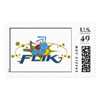 A Bug's Life: Flik With Slingshot Disney Postage Stamp