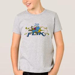 Kids' American Apparel Fine Jersey T-Shirt with Disney Logos design