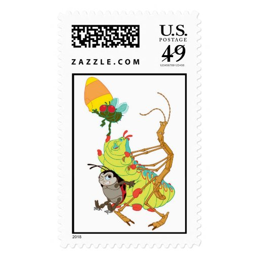 Bug's Life Francis Heimlich Slim Fly Corn Disney Postage | Zazzle