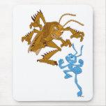 A Bug's Life Hopper and Flik fighting Disney Mousepads