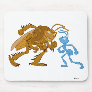 A Bug's Life Hopper and Flik want to fight Disney Mouse Pad
