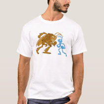 A Bug's Life Hopper and Flik want to fight Disney T-Shirt