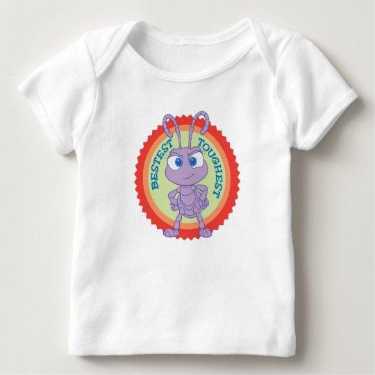 "A Bug's Life Princess Dot ""Bestest, Toughest"" Baby T-Shirt"