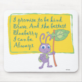 A Bug's Life Princess Dot Pledge Disney Mouse Pad