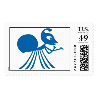 A Bug's Life Rosie silhouette Disney Postage Stamp