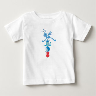 A Bug's Life Totem with Flick, Tuck, and Roll Baby T-Shirt