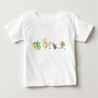A Bug's Life's characters chase after candy corn Baby T-Shirt