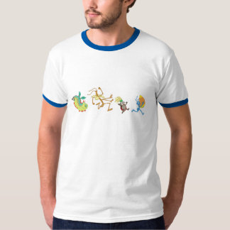 A Bug's Life's characters chase after candy corn Shirt