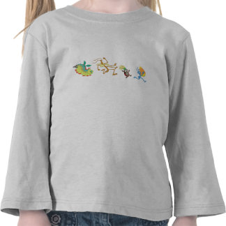 A Bug's Life's characters chase after candy corn Tee Shirt
