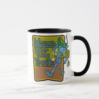 "A Bug's Life's Flik ""Blaze Your Own Trails"" Disney Mug"