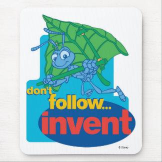 "A Bug's Life's Flik ""Don't Follow� Invent"" Disney Mouse Pad"