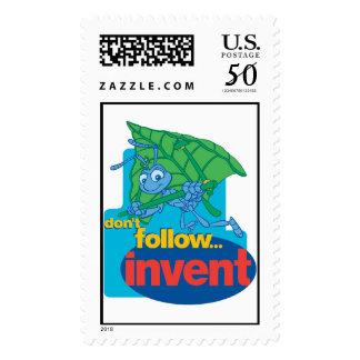 "A Bug's Life's Flik ""Don't Follow� Invent"" Disney Postage"