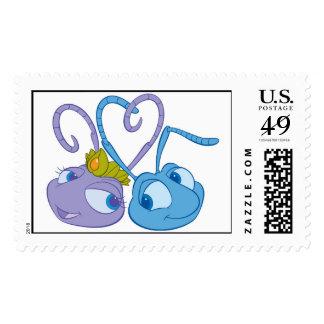 A Bug's Life's Flik & Princess Atta Disney Stamp