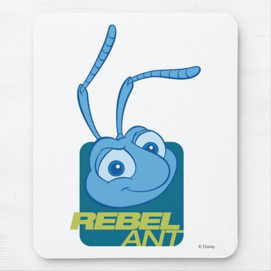 "A Bug's Life's Flik ""Rebel Ant"" Disney Mouse Pad"