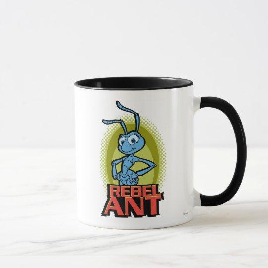 """A Bug's Life's Flik """"Rebel Ant"""" Disney Mug"""