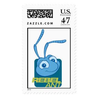 """A Bug's Life's Flik """"Rebel Ant"""" Disney Postage"""