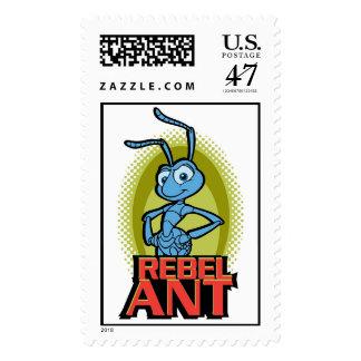 """A Bug's Life's Flik """"Rebel Ant"""" Disney Postage Stamp"""