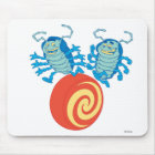 A Bug's Life's Tuck And Roll playing Disney Mouse Pad
