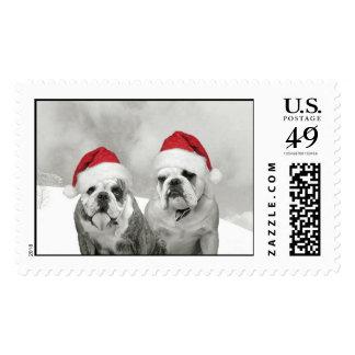 A Bully Good Christmas Postage