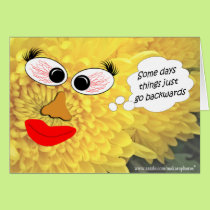 A Bumfuzzled Mum-customize any occasion Card