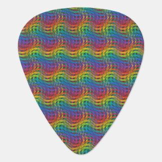 A Bumpy Rainbow Guitar Pick