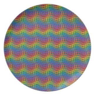 A Bumpy Rainbow Plate