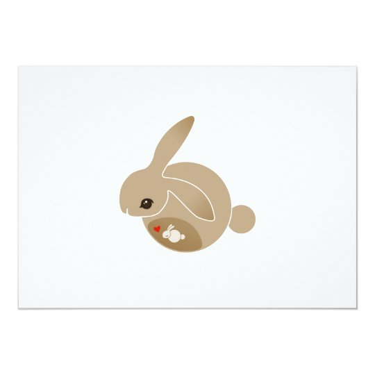 a BUN in the oven Card