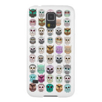A Bunch of Cute Owls Design Galaxy S5 Cover