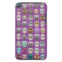 A Bunch of Cute Owls Design iPod Touch Cover