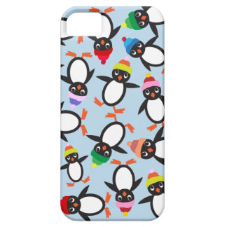 A Bunch of Cute Penguins Collage Phone Case iPhone 5 Cases