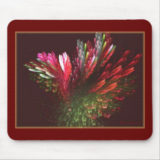 A bunch of flowers mouse pad