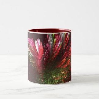 A Bunch of flowers Two-Tone Coffee Mug