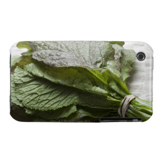A bunch of fresh mustard greens, from a farmer's iPhone 3 cover