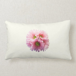A Bunch of Pink Daisies Throw Pillows