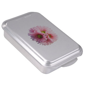 A Bunch of Pink Daisies Cake Pan