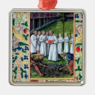A burial ornament