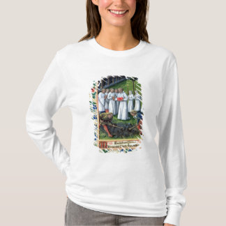 A burial T-Shirt