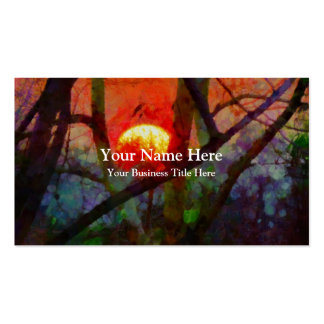 A Burmese Sunset Double-Sided Standard Business Cards (Pack Of 100)