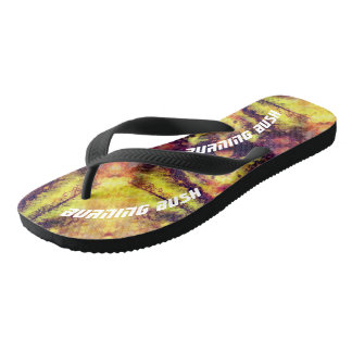 A Burning Bush Flip Flops