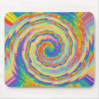 A Burst of Colors Mousepad