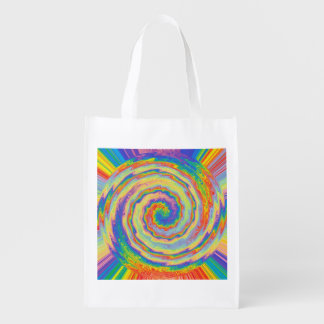 A Burst of Colors Reusable Grocery Bag