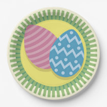A Burst Of Easter Easter Paper Plate