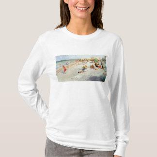 A Busy Beach in Summer T-Shirt