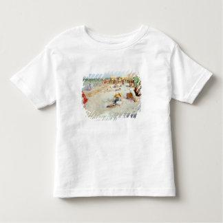 A Busy Beach in Summer Toddler T-shirt
