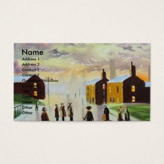 """a busy day ahead"" UK Art Gordon Bruce Business Card"